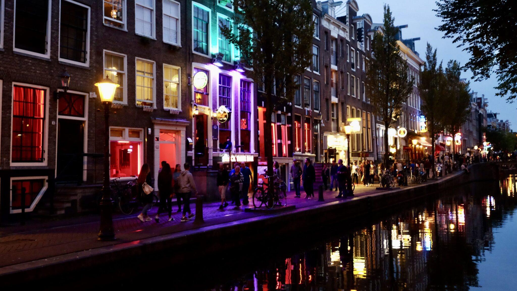 barrio rojo, Holanda