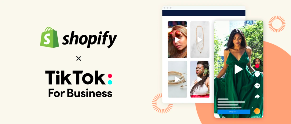 TikTok y Shopify